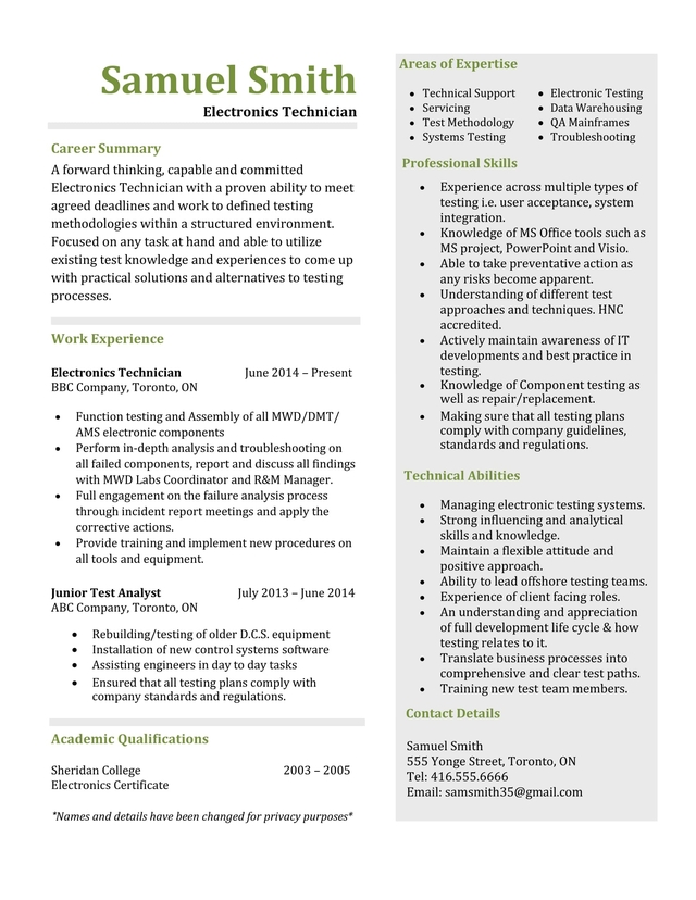 Resume Edmonton Image collections - resume format examples 2018